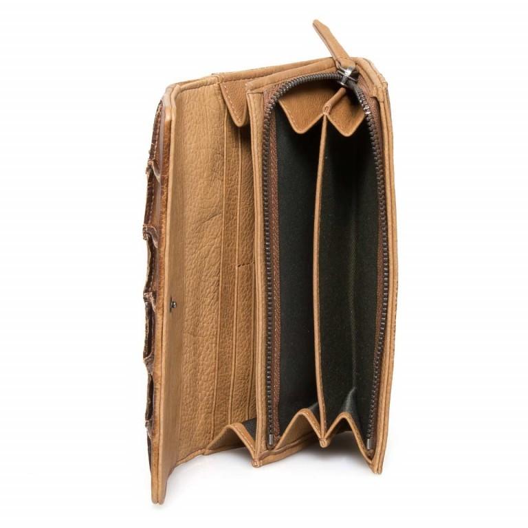 FREDsBRUDER Rechteck 18-801 Flachbörse Leder Toffee, Farbe: cognac, Marke: FredsBruder, EAN: 4250813546080, Abmessungen in cm: 19.5x9.5x4.0, Bild 4 von 4