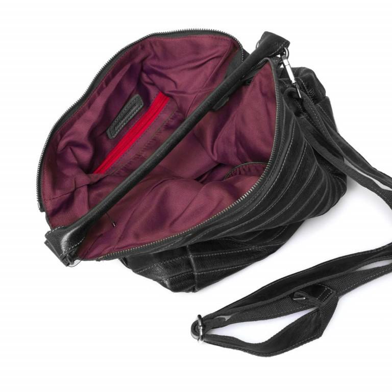 FREDsBRUDER Gürteltier 18-97s-01 Beutel Leder Black, Farbe: schwarz, Marke: FredsBruder, Abmessungen in cm: 32.5x35.0x8.5, Bild 4 von 4