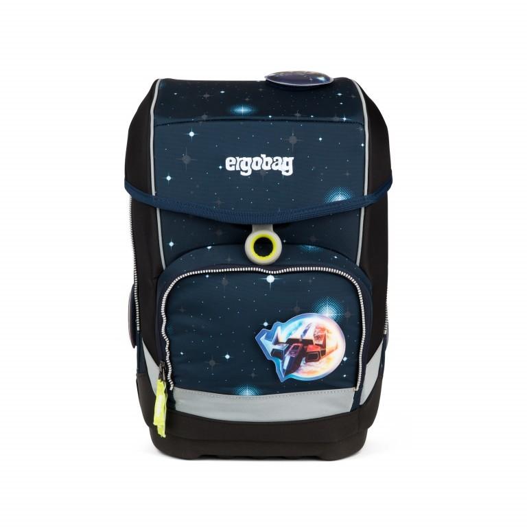 Ergobag Cubo Set 5-teilig Galaxy Special Edition KoBärnikus, Farbe: blau/petrol, Marke: Ergobag, EAN: 4057081024131, Abmessungen in cm: 25.0x40.0x20.0, Bild 2 von 14