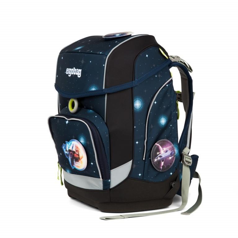 Ergobag Cubo Set 5-teilig Galaxy Special Edition KoBärnikus, Farbe: blau/petrol, Marke: Ergobag, EAN: 4057081024131, Abmessungen in cm: 25.0x40.0x20.0, Bild 3 von 14