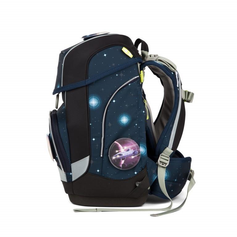 Ergobag Cubo Set 5-teilig Galaxy Special Edition KoBärnikus, Farbe: blau/petrol, Marke: Ergobag, EAN: 4057081024131, Abmessungen in cm: 25.0x40.0x20.0, Bild 4 von 14