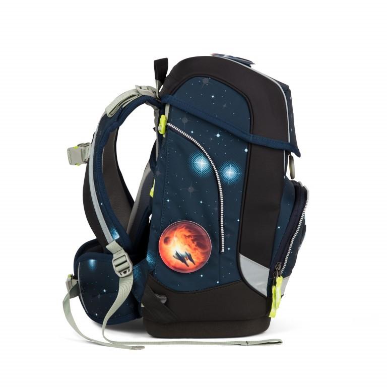 Ergobag Cubo Set 5-teilig Galaxy Special Edition KoBärnikus, Farbe: blau/petrol, Marke: Ergobag, EAN: 4057081024131, Abmessungen in cm: 25.0x40.0x20.0, Bild 7 von 14