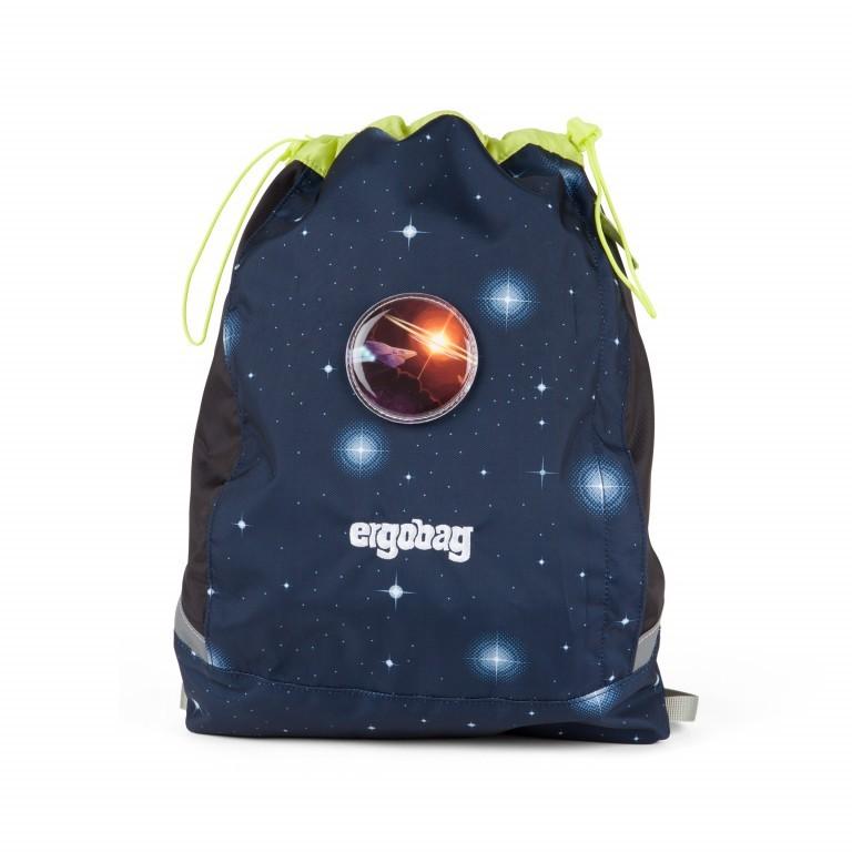 Ergobag Cubo Set 5-teilig Galaxy Special Edition KoBärnikus, Farbe: blau/petrol, Marke: Ergobag, EAN: 4057081024131, Abmessungen in cm: 25.0x40.0x20.0, Bild 12 von 14