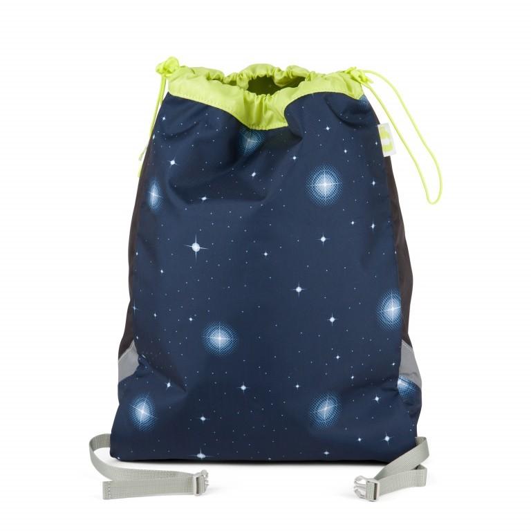 Ergobag Cubo Set 5-teilig Galaxy Special Edition KoBärnikus, Farbe: blau/petrol, Marke: Ergobag, EAN: 4057081024131, Abmessungen in cm: 25.0x40.0x20.0, Bild 13 von 14