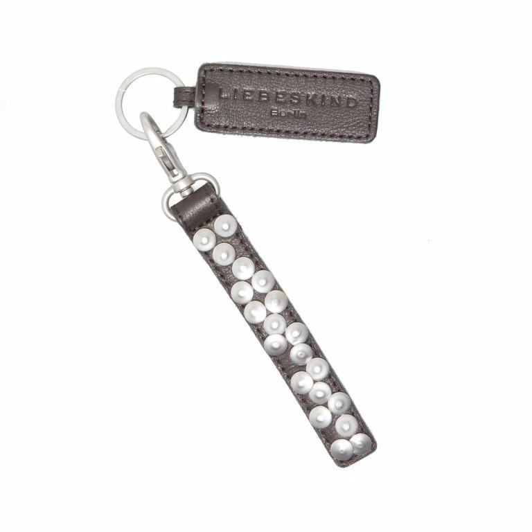 LIEBESKIND Vintage Tag 6 Schlüsselanhänger Dark Brown, Farbe: braun, Marke: Liebeskind Berlin, EAN: 4051436856187, Abmessungen in cm: 1.5x17.0, Bild 1 von 1