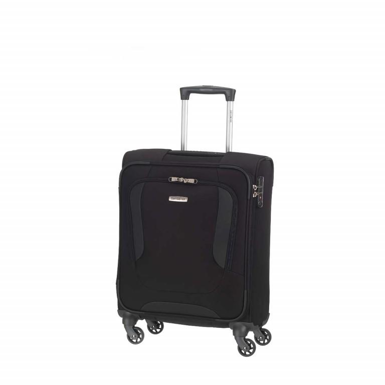 Samsonite Koffer/Trolley Arnavon 64300 Spinner 55cm Black, Farbe: schwarz, Marke: Samsonite, Abmessungen in cm: 40.0x55.0x20.0, Bild 1 von 1