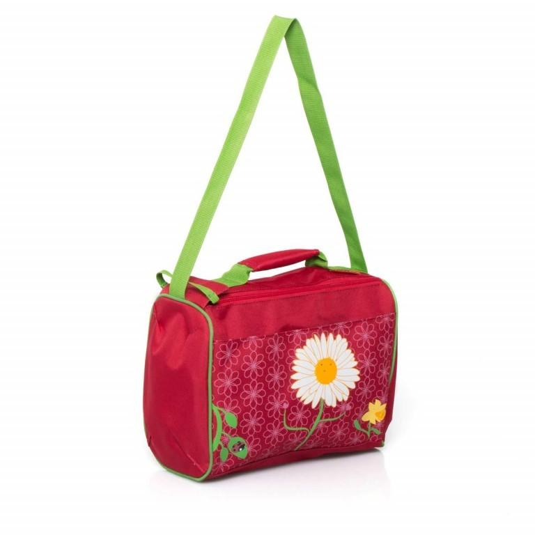 Travelite Reisetasche Youngster 32cm Rot, Farbe: rot/weinrot, Marke: Travelite, Abmessungen in cm: 32.0x25.0x18.0, Bild 2 von 4