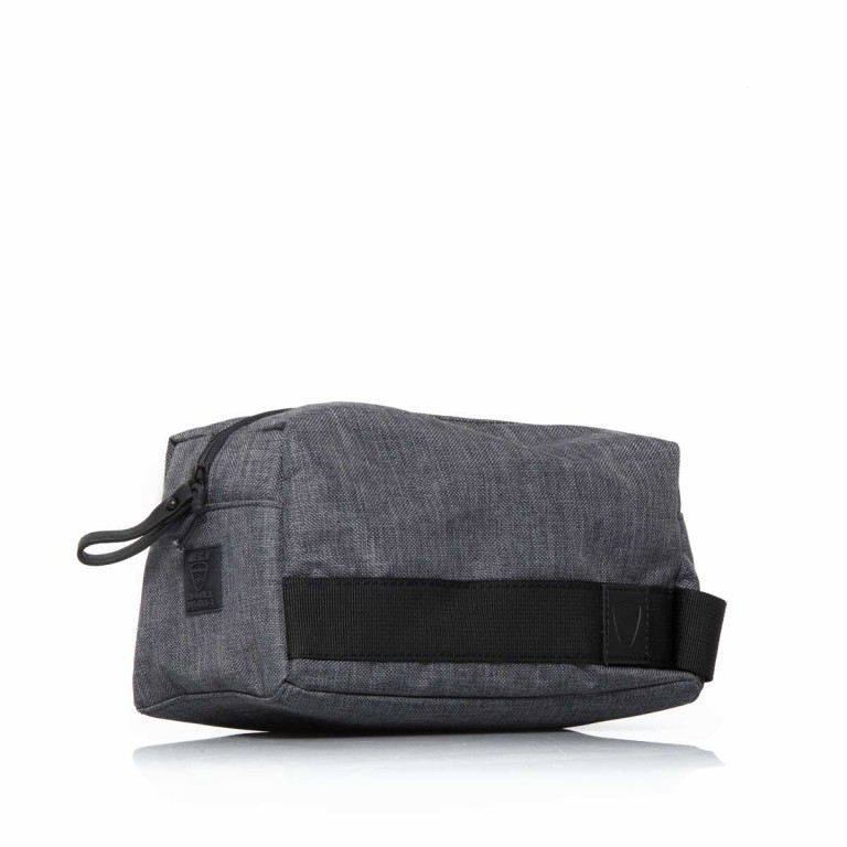 Strellson Northwood Wash Bag Dark Grey, Farbe: anthrazit, Marke: Strellson, EAN: 4053533401888, Abmessungen in cm: 25.0x13.0x13.0, Bild 2 von 4