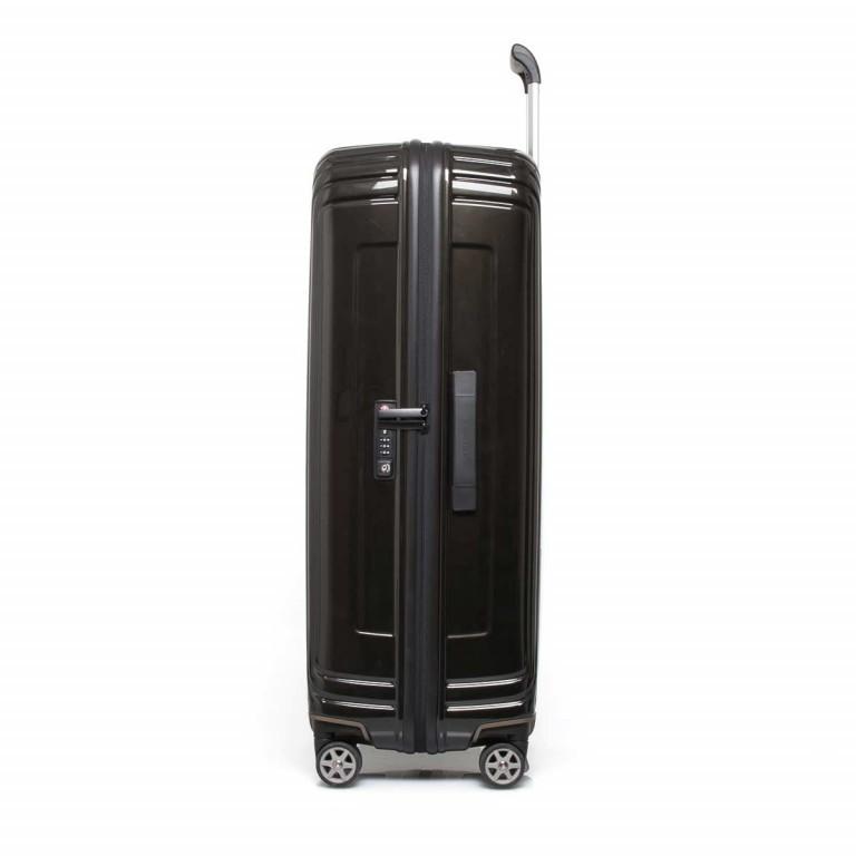 Samsonite Koffer/Trolley Neopulse 65754 Spinner 75 Metallic Black, Farbe: schwarz, Marke: Samsonite, Abmessungen in cm: 51.0x75.0x28.0, Bild 3 von 10