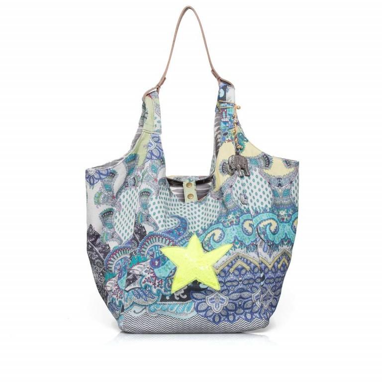 Anokhi Cheyenne Canvas Star Paisley Blue, Farbe: bunt, Marke: Anokhi, Abmessungen in cm: 30.0x37.0x26.0, Bild 1 von 3