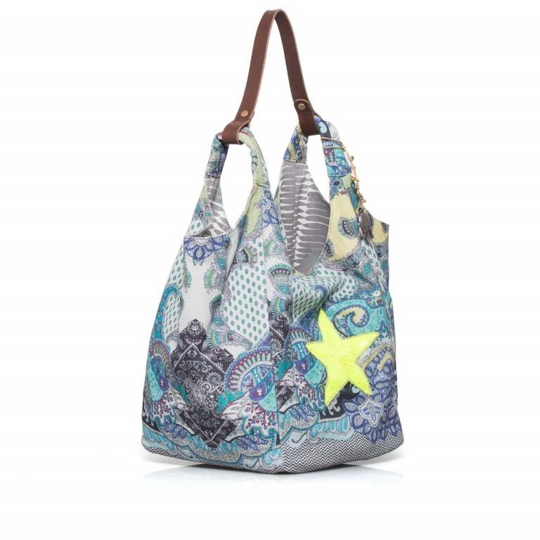 Anokhi Cheyenne Canvas Star Paisley Blue, Farbe: bunt, Marke: Anokhi, Abmessungen in cm: 30.0x37.0x26.0, Bild 2 von 3