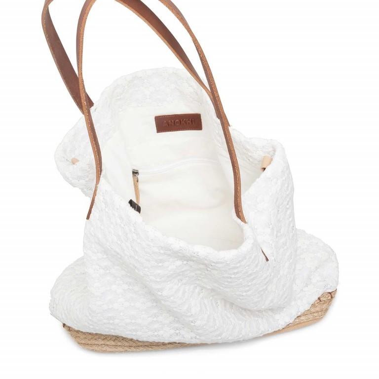 Anokhi Cooton Espandrilles Lace, Farbe: weiß, Marke: Anokhi, Abmessungen in cm: 40.0x35.0x17.0, Bild 5 von 5
