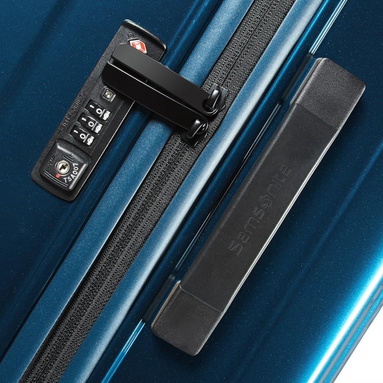 Samsonite Neopulse 65752 Spinner 55 Metallic Blue, Farbe: blau/petrol, Marke: Samsonite, Abmessungen in cm: 40.0x55.0x20.0, Bild 4 von 5