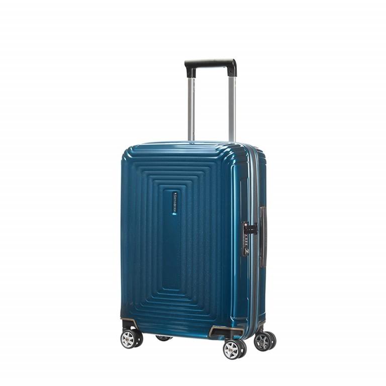 Samsonite Neopulse 65752 Spinner 55 Metallic Blue, Farbe: blau/petrol, Marke: Samsonite, Abmessungen in cm: 40.0x55.0x20.0, Bild 1 von 5