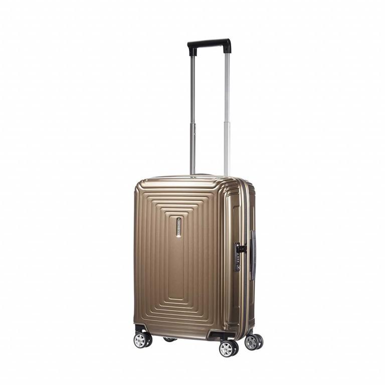 Samsonite Koffer/Trolley Neopulse 65752 Spinner 55 Metallic Sand, Farbe: braun, Marke: Samsonite, Abmessungen in cm: 40.0x55.0x20.0, Bild 2 von 2