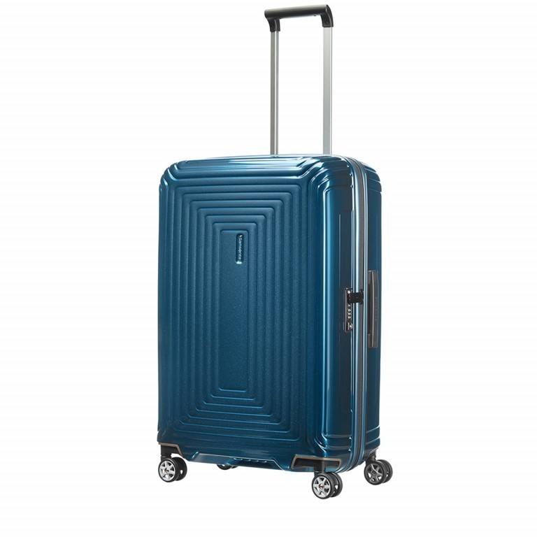 Samsonite Neopulse 65753 Spinner 69 Metallic Blue, Farbe: blau/petrol, Marke: Samsonite, Abmessungen in cm: 46.0x69.0x27.0, Bild 3 von 5