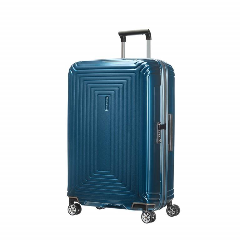 Samsonite Neopulse 65753 Spinner 69 Metallic Blue, Farbe: blau/petrol, Marke: Samsonite, Abmessungen in cm: 46.0x69.0x27.0, Bild 1 von 5