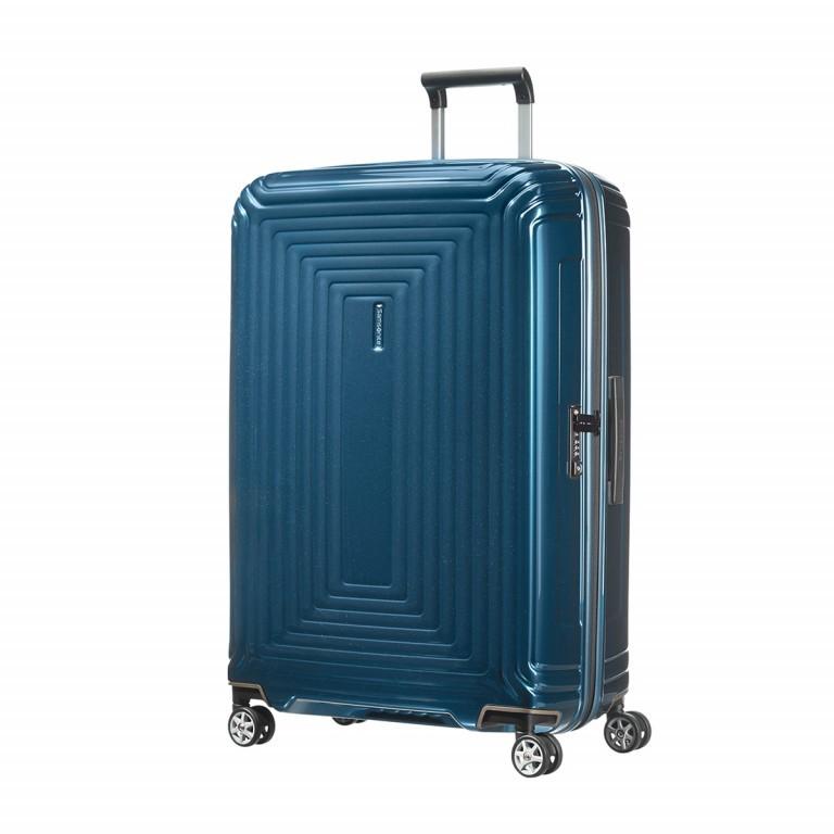Samsonite Neopulse 65754 Spinner 75 Metallic Blue, Farbe: blau/petrol, Marke: Samsonite, Abmessungen in cm: 51.0x75.0x28.0, Bild 1 von 4