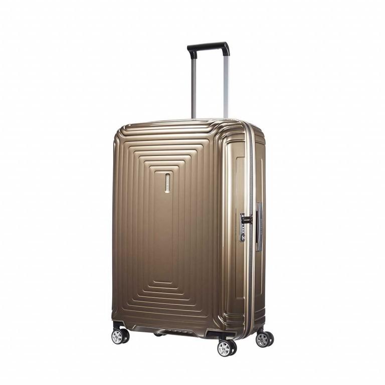 Samsonite Koffer/Trolley Neopulse 65754 Spinner 75 Metallic Sand, Farbe: braun, Marke: Samsonite, EAN: 5414847565748, Abmessungen in cm: 51.0x75.0x28.0, Bild 2 von 10