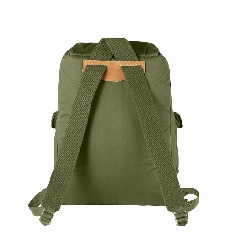 Fjällräven Greenland Backpack Green, Farbe: grün/oliv, Marke: Fjällräven, EAN: 7323450066611, Abmessungen in cm: 32.0x45.0x15.0, Bild 2 von 2