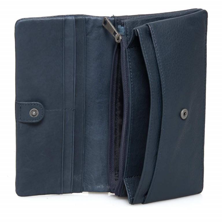 LIEBESKIND Vintage Slam 6 Börse Dark Blue, Farbe: blau/petrol, Marke: Liebeskind Berlin, EAN: 4051436838015, Abmessungen in cm: 18.5x10.0x3.0, Bild 2 von 3