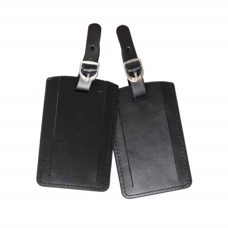 Samsonite Rectangular Luggage Tag 52972 Black, Farbe: schwarz, Marke: Samsonite, Bild 1 von 3