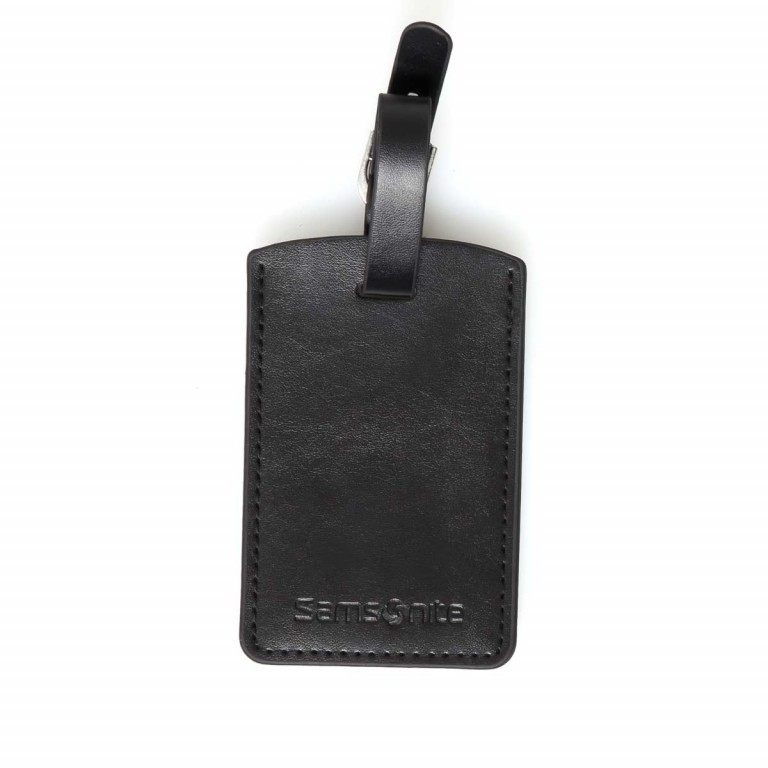 Samsonite Rectangular Luggage Tag 52972 Black, Farbe: schwarz, Marke: Samsonite, Bild 3 von 3