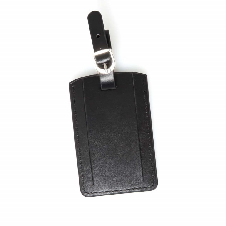 Samsonite Rectangular Luggage Tag 52972 Black, Farbe: schwarz, Marke: Samsonite, Bild 2 von 3