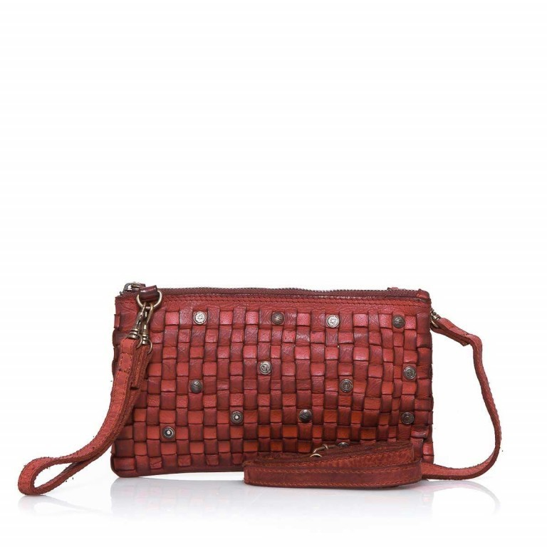HARBOUR2nd Clutch Lillen Red, Farbe: rot/weinrot, Marke: Harbour 2nd, Abmessungen in cm: 23.0x13.0x2.0, Bild 1 von 3