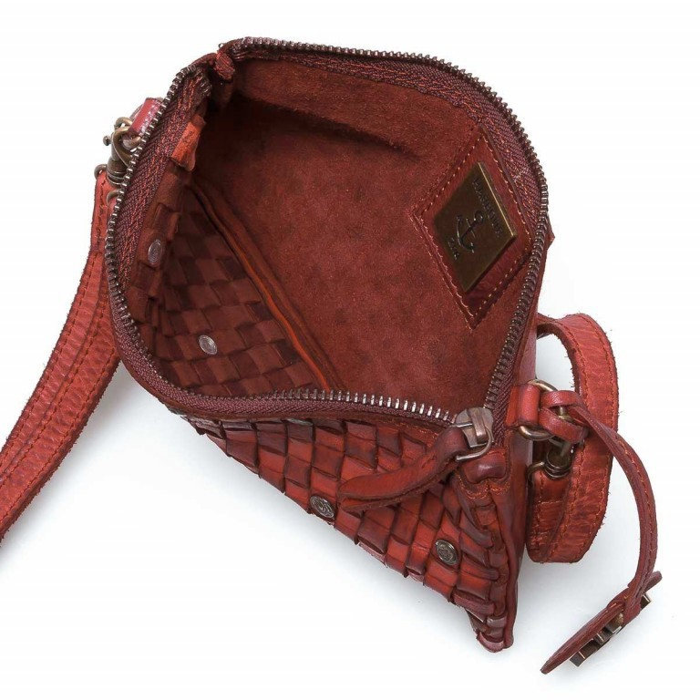 HARBOUR2nd Clutch Lillen Red, Farbe: rot/weinrot, Marke: Harbour 2nd, Abmessungen in cm: 23.0x13.0x2.0, Bild 3 von 3