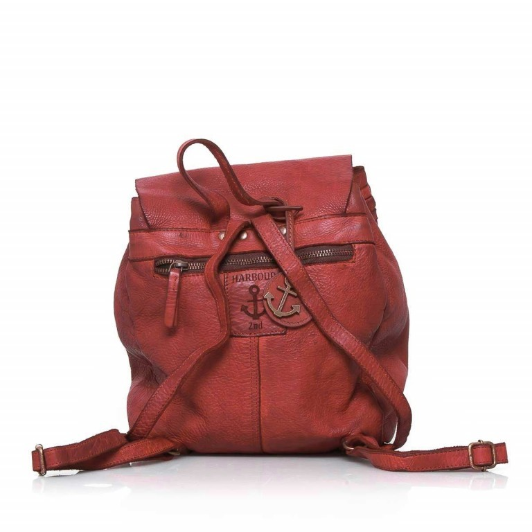 HARBOUR2nd Rucksack Selene Red, Farbe: rot/weinrot, Manufacturer: Harbour 2nd, Dimensions (cm): 25.0x30.0x10.0, Image 3 of 4