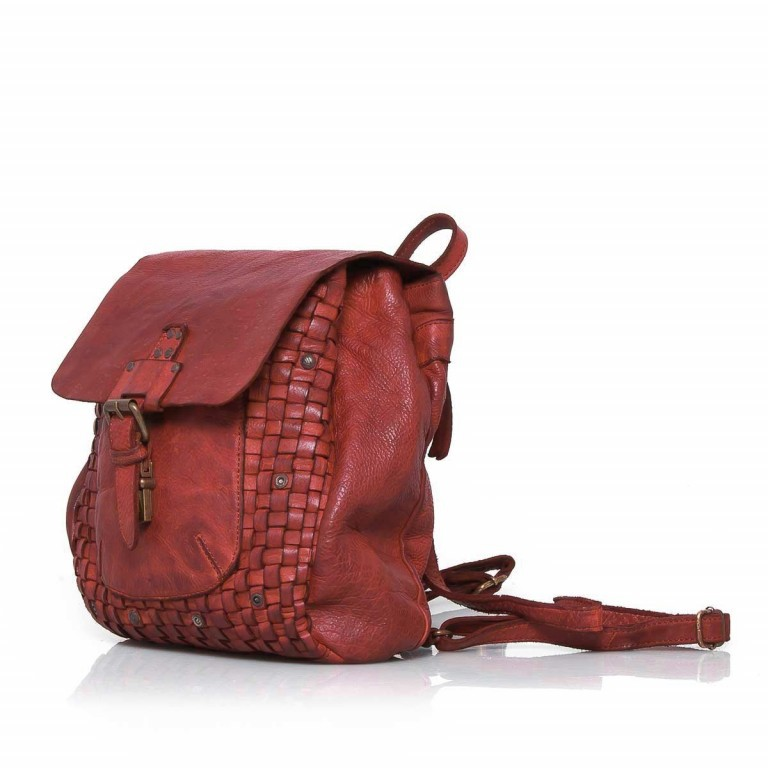 HARBOUR2nd Rucksack Selene Red, Farbe: rot/weinrot, Manufacturer: Harbour 2nd, Dimensions (cm): 25.0x30.0x10.0, Image 2 of 4