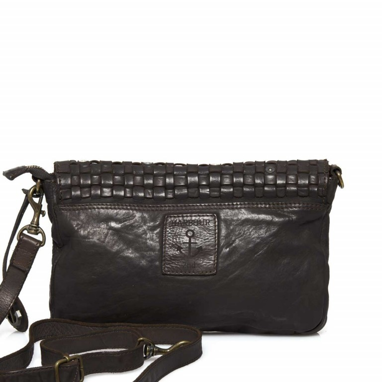 HARBOUR 2nd Clutch Loa Dark Ash, Farbe: anthrazit, Marke: Harbour 2nd, Abmessungen in cm: 28.5x19.0x3.0, Bild 3 von 4
