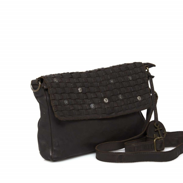 HARBOUR 2nd Clutch Loa Dark Ash, Farbe: anthrazit, Marke: Harbour 2nd, Abmessungen in cm: 28.5x19.0x3.0, Bild 2 von 4