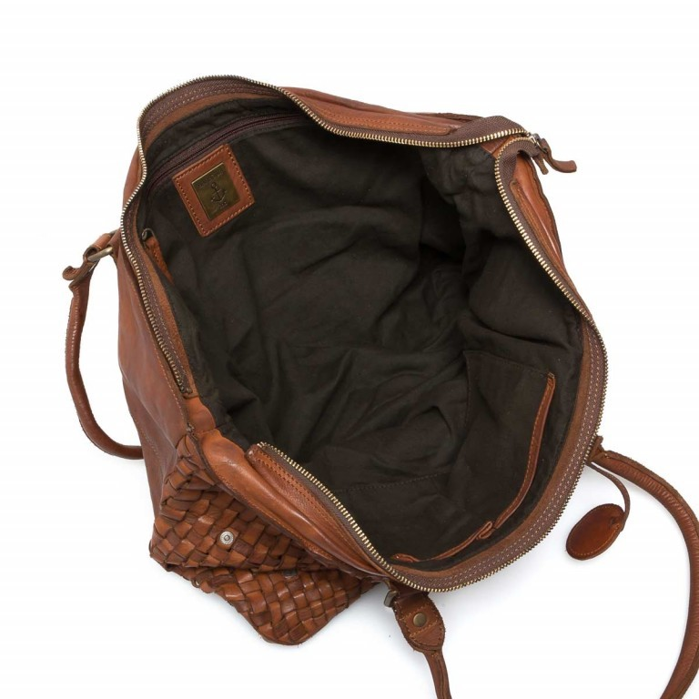 HARBOUR2nd Shopper Malea Cognac, Farbe: cognac, Marke: Harbour 2nd, Abmessungen in cm: 48.0x31.5x13.0, Bild 4 von 4