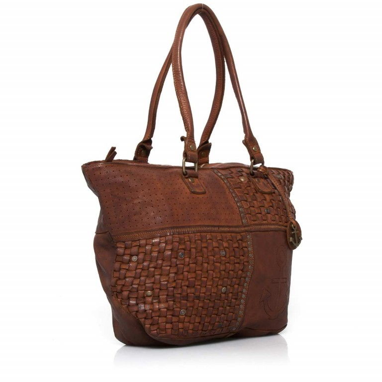 HARBOUR2nd Shopper Mia Cognac, Farbe: cognac, Marke: Harbour 2nd, Abmessungen in cm: 49.0x30.0x14.5, Bild 2 von 4
