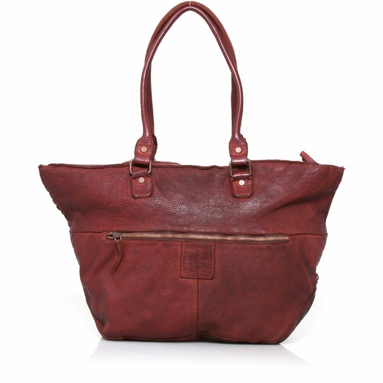 HARBOUR2nd Shopper Mia Red, Farbe: rot/weinrot, Marke: Harbour 2nd, Abmessungen in cm: 49.0x30.0x14.5, Bild 3 von 4