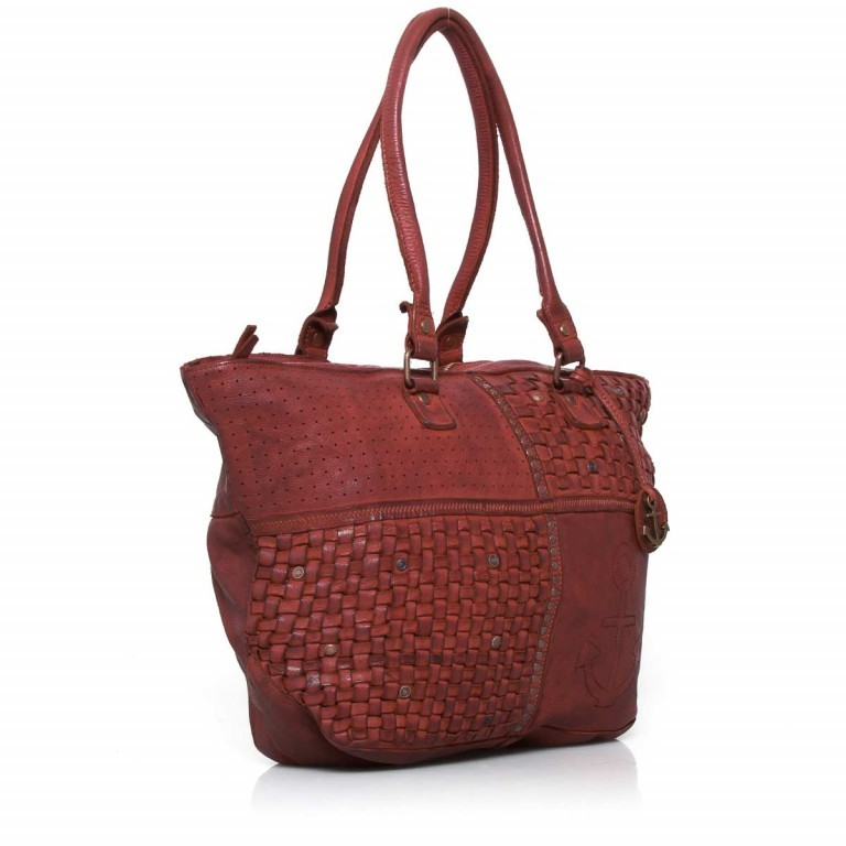 HARBOUR2nd Shopper Mia Red, Farbe: rot/weinrot, Marke: Harbour 2nd, Abmessungen in cm: 49.0x30.0x14.5, Bild 2 von 4