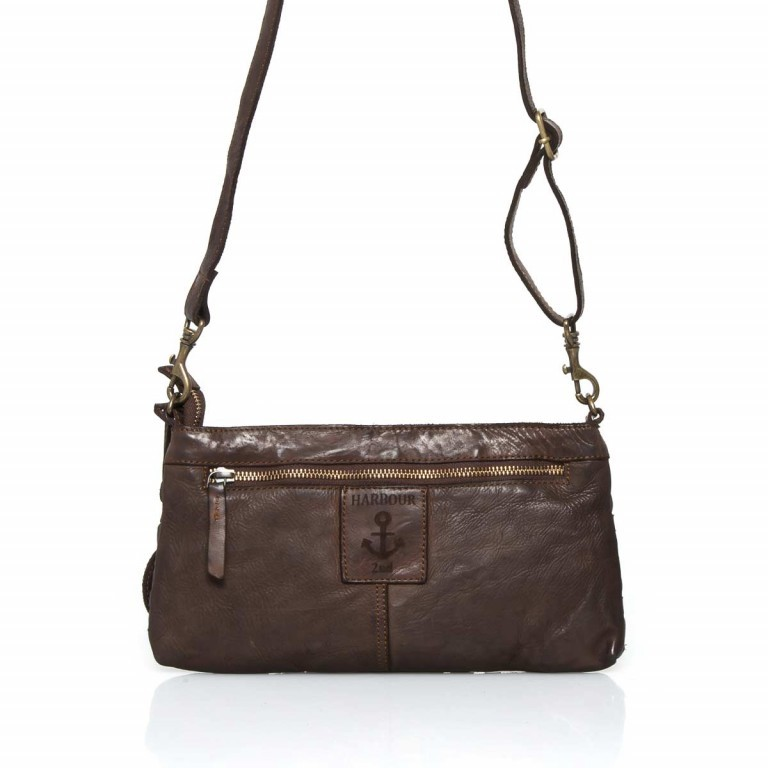 HARBOUR2nd Clutch Yssa Brown, Farbe: braun, Marke: Harbour 2nd, Abmessungen in cm: 29.0x15.5x2.0, Bild 4 von 4