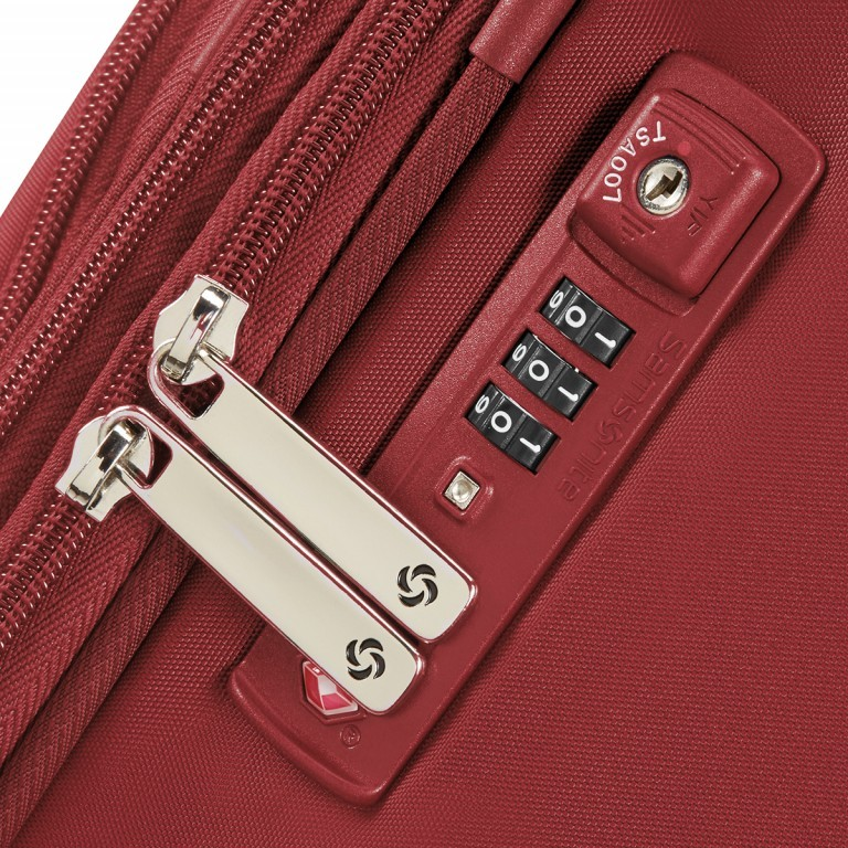 Samsonite B-Lite 3 64948 Spinner 55 Red, Farbe: rot/weinrot, Marke: Samsonite, Abmessungen in cm: 55.0x40.0x20.0, Bild 3 von 8