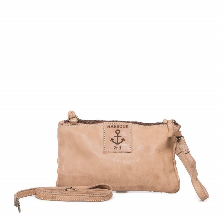HARBOUR2nd Clutch Lillen Taupe, Marke: Harbour 2nd, Abmessungen in cm: 23.0x13.0x2.0, Bild 5 von 6