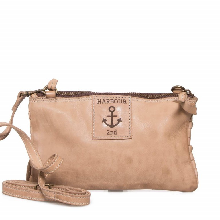 HARBOUR2nd Clutch Lillen Taupe, Manufacturer: Harbour 2nd, Dimensions (cm): 23.0x13.0x2.0, Image 6 of 6