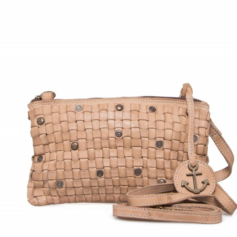 HARBOUR2nd Clutch Lillen Taupe, Manufacturer: Harbour 2nd, Dimensions (cm): 23.0x13.0x2.0, Image 1 of 6