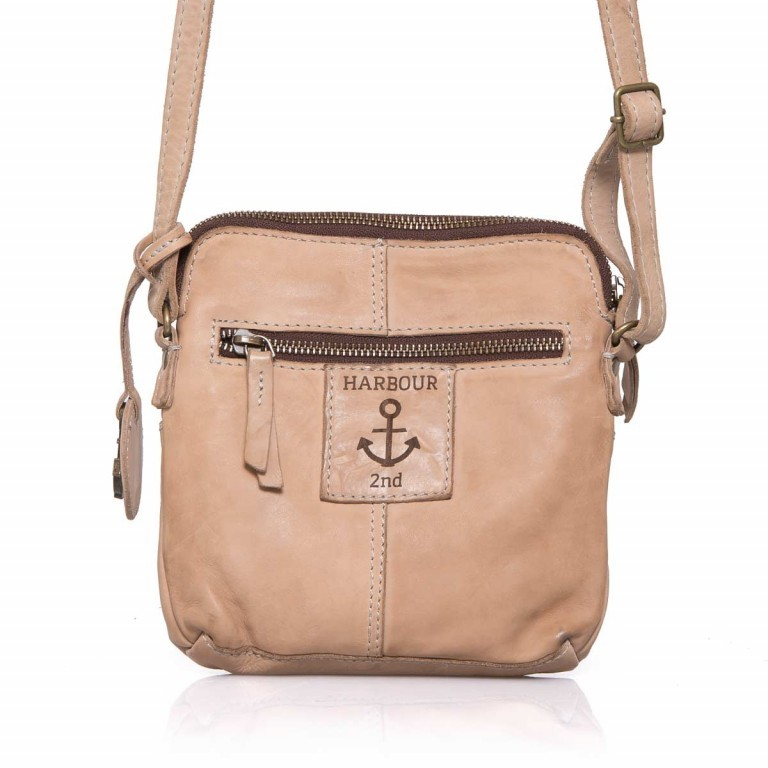HARBOUR2nd Crossbag Selma Taupe, Manufacturer: Harbour 2nd, Dimensions (cm): 19.0x20.0x3.0, Image 5 of 5