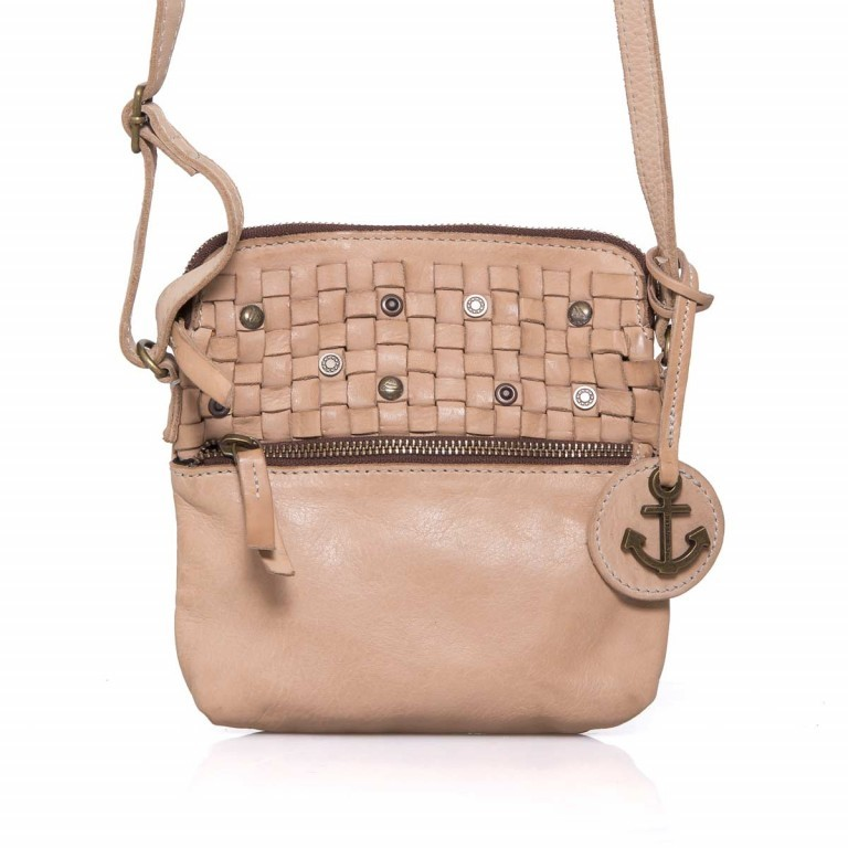 HARBOUR2nd Crossbag Selma Taupe, Manufacturer: Harbour 2nd, Dimensions (cm): 19.0x20.0x3.0, Image 1 of 5