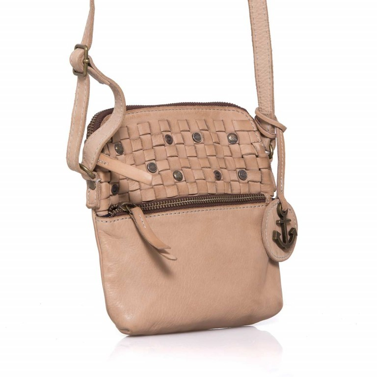 HARBOUR2nd Crossbag Selma Taupe, Manufacturer: Harbour 2nd, Dimensions (cm): 19.0x20.0x3.0, Image 3 of 5