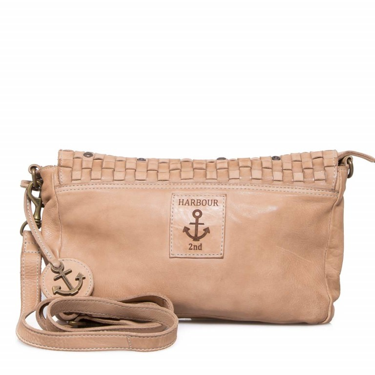 HARBOUR 2nd Clutch Loa Taupe, Marke: Harbour 2nd, Abmessungen in cm: 28.5x19.0x3.0, Bild 4 von 4