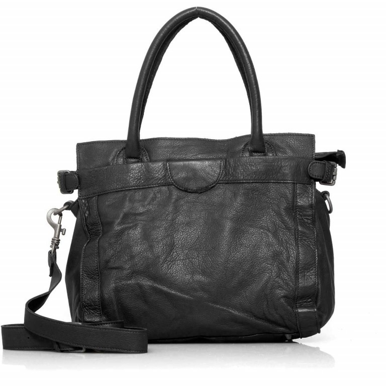 LIEBESKIND Vintage Glory Shopper Black, Farbe: schwarz, Marke: Liebeskind Berlin, EAN: 4051436833164, Abmessungen in cm: 33.0x30.0x16.0, Bild 4 von 4