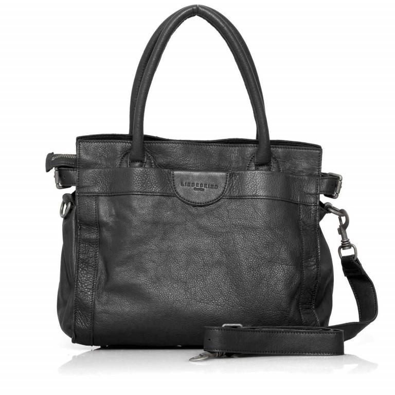 LIEBESKIND Vintage Glory Shopper Black, Farbe: schwarz, Marke: Liebeskind Berlin, EAN: 4051436833164, Abmessungen in cm: 33.0x30.0x16.0, Bild 1 von 4