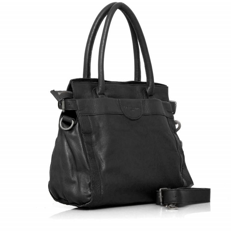 LIEBESKIND Vintage Glory Shopper Black, Farbe: schwarz, Marke: Liebeskind Berlin, EAN: 4051436833164, Abmessungen in cm: 33.0x30.0x16.0, Bild 2 von 4
